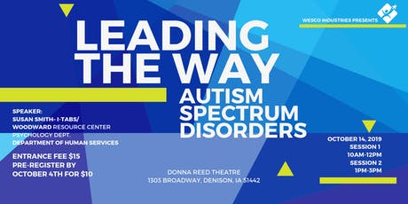 Leading The Way - Autism Spectrum Disorders tickets