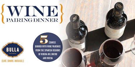Ribera & Rueda Spanish Wine Dinner at Bulla Gastrobar - Winter Park tickets