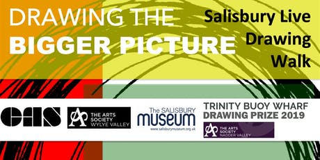 Drawing the Bigger Picture - Salisbury Live Drawing Walk tickets