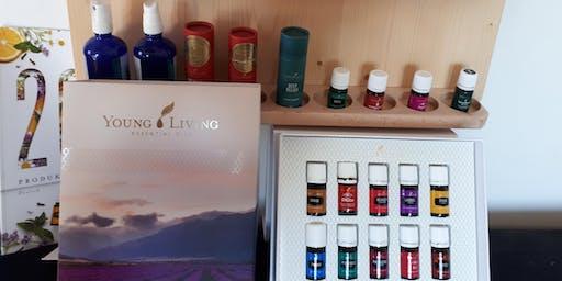 Duftreise und kennen lernen von Youngliving Produkten