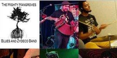 The Mangroves Blues and Zydeco Band plus Dance Lesson with Cheryl McBride