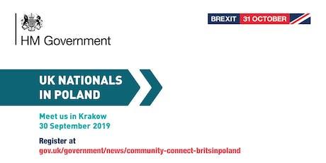 Community Connect - #BritsinPoland | Krakow tickets