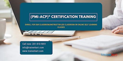 PMI-ACP Classroom Training in  Sherbrooke, PE