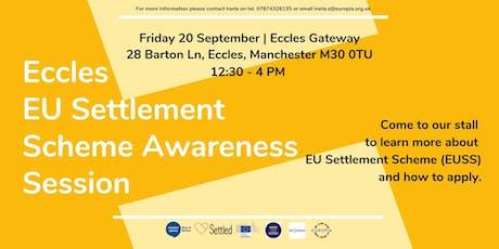 Eccles EU Settlement Scheme Awareness Session tickets