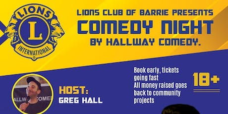Lions Club of Barrie Comedy Night tickets