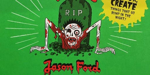 The Monster Book of Zombies, Spooks & Ghouls with Jason Ford