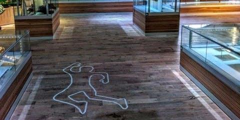 CSI: Llofruddiaeth yn yr Amgueddfa | CSI: Murder @ the Museum