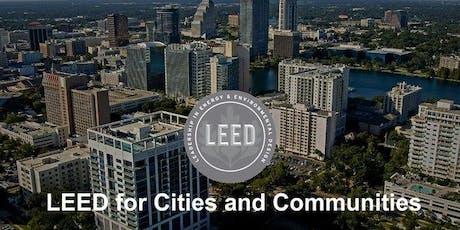 LEED for Cities & Communities Workshop - Tampa 10/15/19 tickets