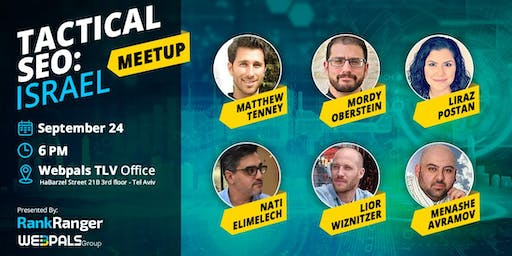 Tactical SEO: Israel Meetup