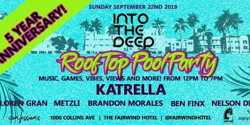 Into The Deep Rooftop Pool Party 5 year Anniversary