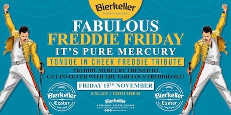 Fabulous Freddie Friday - slap stick Freddie tribute night tickets