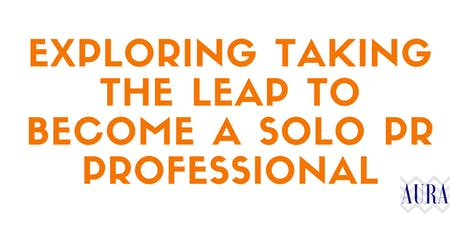 Exploring taking the leap to become a solo PR professional tickets