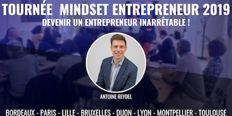 Tournée Mindset Entrepreneur - Bordeaux billets