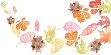 Autumn Watercolours tickets