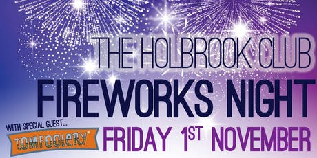 The Holbrook Club Fireworks Night 2019 tickets