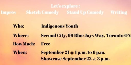 Indigenous Youth Comedy Showcase