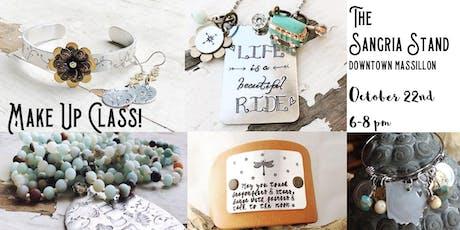 Jewelry Make Up Class tickets
