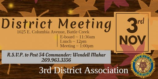 District Meeting