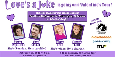 Love's a Joke Valentine's Comedy Show tickets