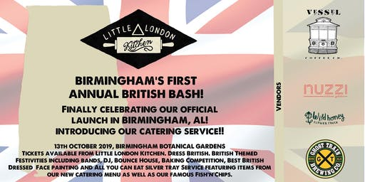 Birmingham's First Annual British Bash!