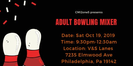 Adult Bowling Mixer Fundraiser tickets