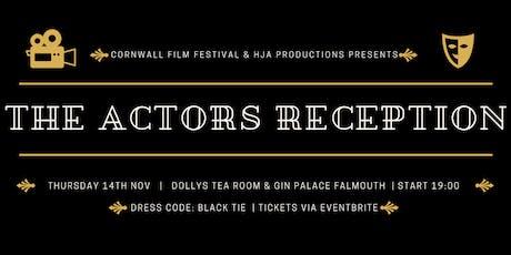 The Actors Reception tickets
