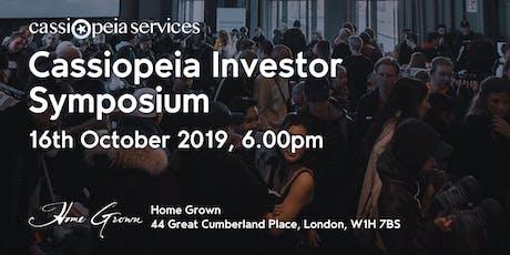 Cassiopeia Investor Symposium tickets