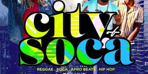 CITY of SOCA FRIDAYS | FREEZE x PADDY x 10SPEEDx FRAGG | Free b4 12