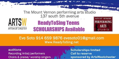 ReadyToSing Voice Lessons Scholarship OPEN HOUSE tickets