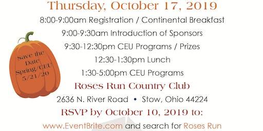 Roses Run - Fall CEU Event 2019