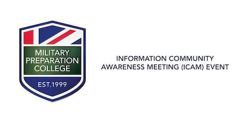 Information Community Awareness Meeting (ICAM) MPC Edgware