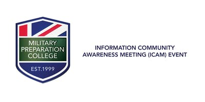 Information Community Awareness Meeting (ICAM) Eve