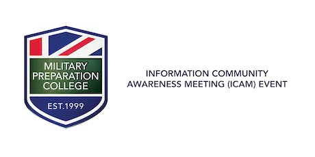 Information Community Awareness Meeting  (ICAM) Event - MPC Eastbourne tickets