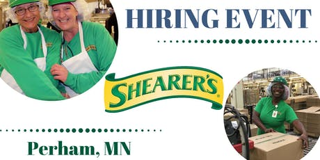 Shearer's--OPEN INTERVIEWS Sept. 24- 9AM-11AM-Perham, MN tickets
