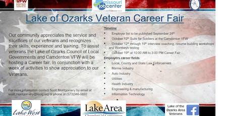 Lake of Ozarks Area Veterans Career Fair tickets