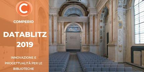Comperio DataBlitz 2019 biglietti