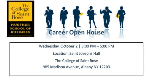 Huether School Business - Fall Career Open House - October 2, 2019 @ 3-5 PM
