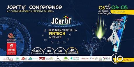 JCertif Brazza 2019 billets