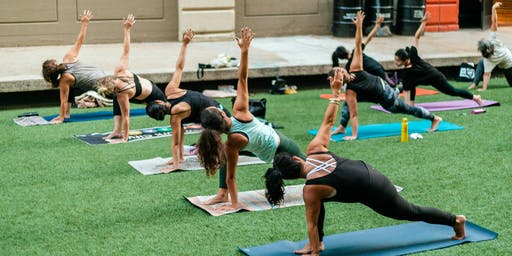 FREE Outdoor Sunset Yoga by Setu + Chelsea Piers Fitness