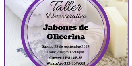 Taller de Jabones Artesanales tickets