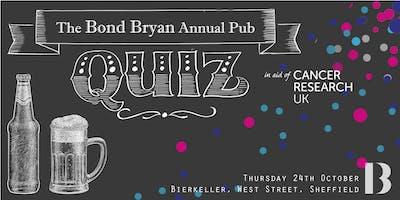 The Bond Bryan Annual Pub Quiz