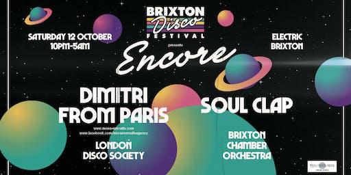 Brixton Disco Festival: Encore - Dimitri From Paris & Soul Clap