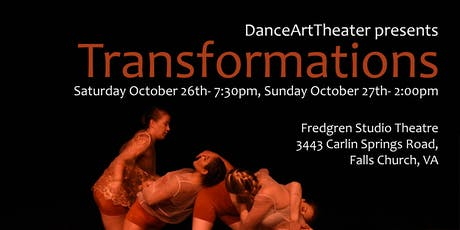 Transformations Dance Performance tickets