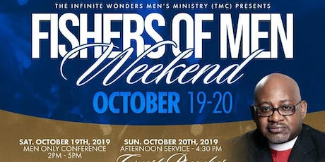 """TMC""""Fishers Of Men"""" Conference tickets"""
