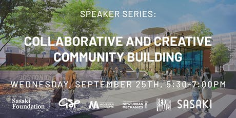 Speaker Series: Collaborative and Creative Community Building tickets