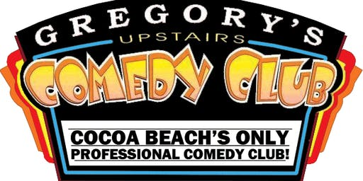 Gregory's Cocoa Beach Comedy Club January 16-18 !