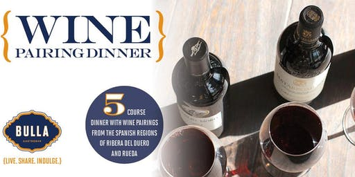Ribera & Rueda Spanish Wine Dinner at Bulla Gastrobar - Coral Gables