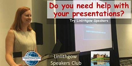Gain Confidence at Linlithgow Speakers tickets