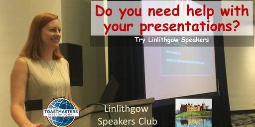Gain Confidence at Linlithgow Speakers