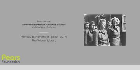 Talk: Women Perpetrators in Auschwitz-Birkenau tickets